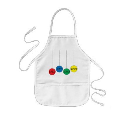 """Christmas Apron """"Bake Eat Sleep Repeat""""  $16.30  by ChristmasHappy  - cyo diy customize personalize unique"""