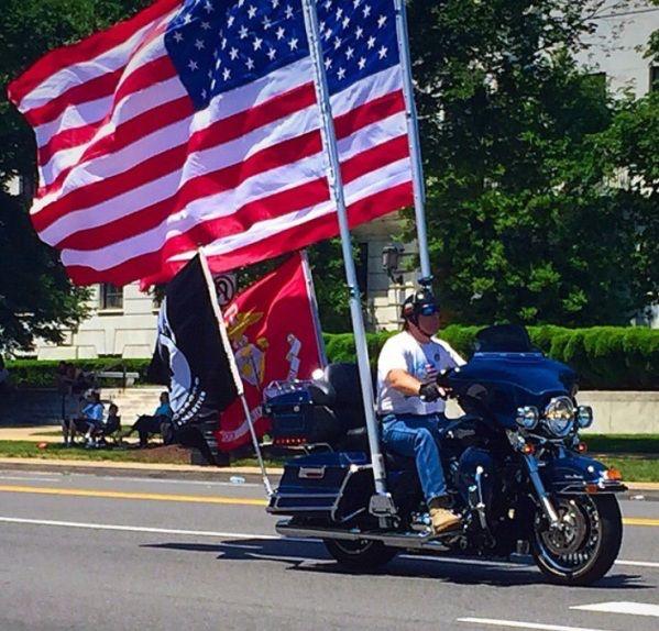 memorial day parade route dc