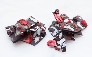Just In Time for Valentine's Day...Clean Chocolate Bark
