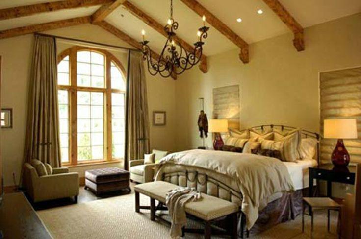 Hacienda Bedroom Interior Design Ideas