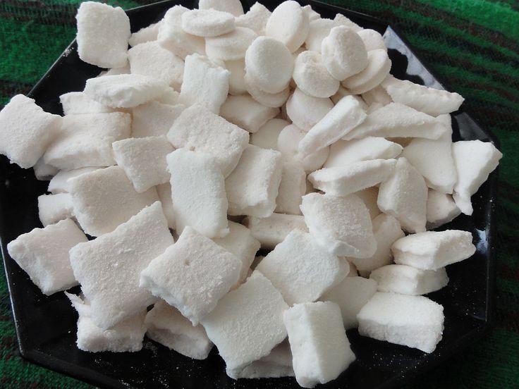 Domácí marshmallow (žužu) | recept. Pěnové bonbony marshmalow, které děti tak milují, si snadno vyrobíte doma sami s min