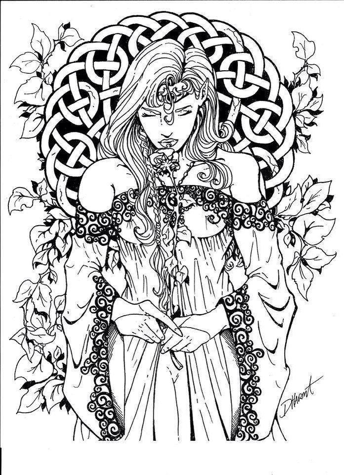 find this pin and more on colouring pagan wiccan coloring pages