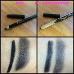 Matita occhi nera: -Il prima e il dopo-. Bio make up.  http://untoccodibio.altervista.org/