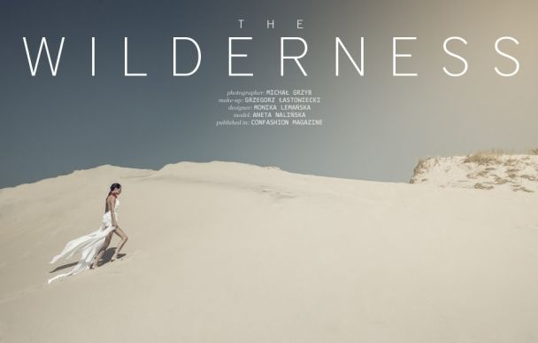 "Michał Grzyb: ""The wilderness"" http://www.confashionmag.pl/webitorial/the-wilderness.html Lemanska fashion designer"