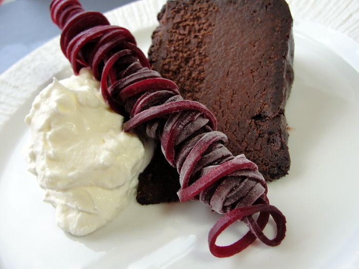 Moist and Delicious Chocolate Beet Cake - I've always wanted to give this a try.