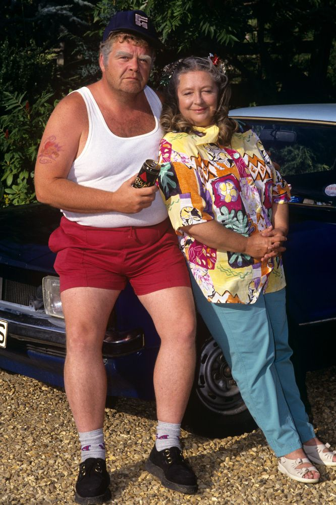 Onslow and Daisy from Keeping Up Appearances. Onslow was such a fun character, the polar opposite of Hyacinth. He had a natural sympathy for the plight of Richard, and was always willing to buy him a pint.
