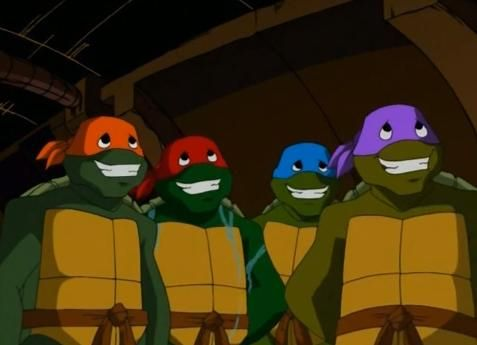 poker face ninja turtles