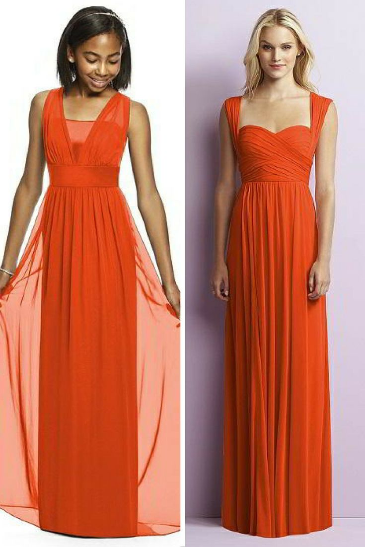 196 best orange bridesmaid dresses weddings images on pinterest the dessy group the spot for all things bridesmaid heres how to get that emmys red carpet a lister look with frocks by dessy ombrellifo Gallery