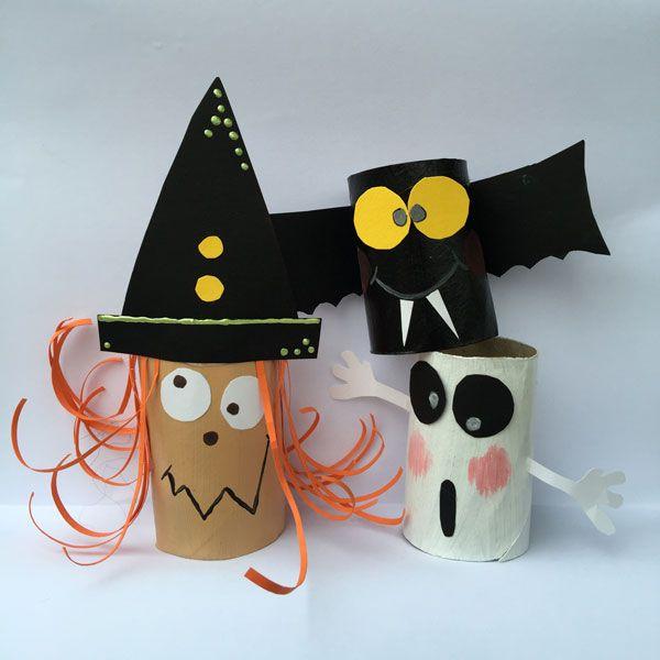 Halloweenpyssel för skolan och förskolan