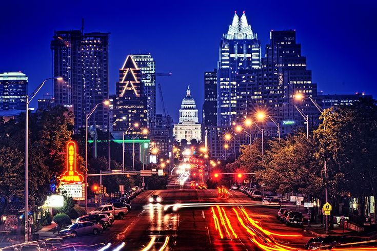 Because Austin is a dynamic city that never bores me