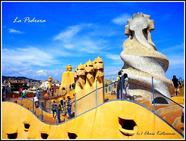 Travel in Clicks: Casa Milla - La Pedrera