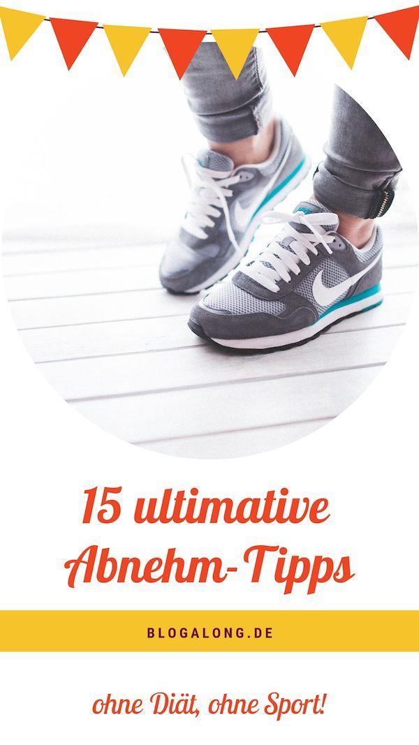 15 Tipps Zum Abnehmen Ohne Diat Ohne Sport Sport Workout