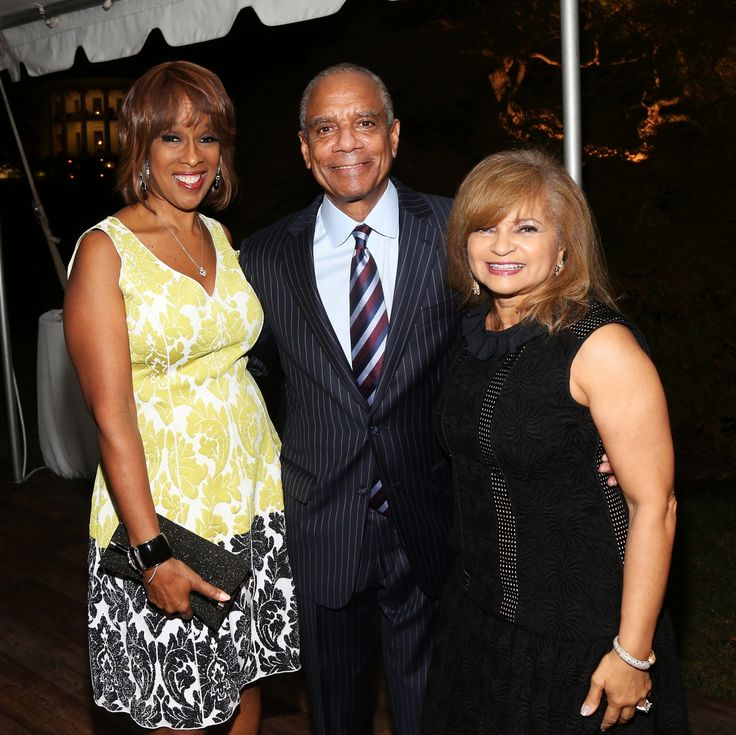 Hey Gayle King, Kenneth Chenault and Kathryn Chenault! You All Look Great!