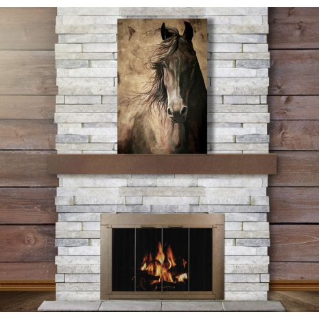 17 Best Images About Fireplace Doors Under 500 On