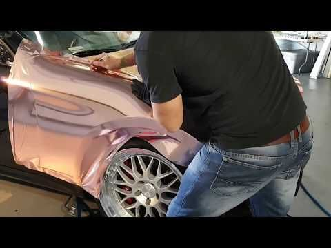 (9) ROSE GOLD Chrome Wrap Your Fender   How To Wrap A Car – YouTube