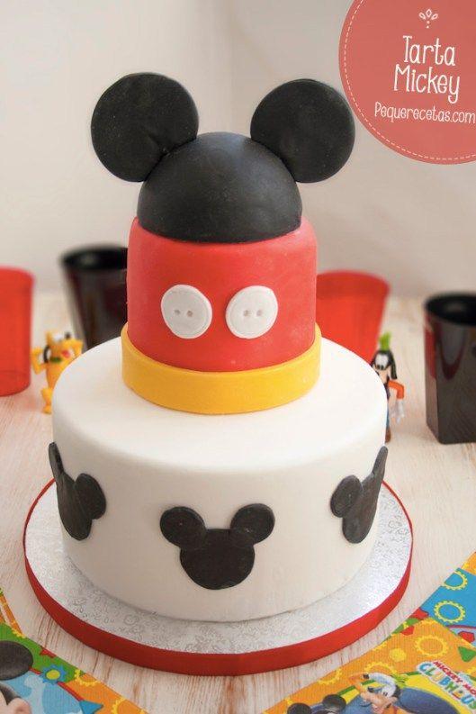 Torta de Mickey Mouse paso a paso