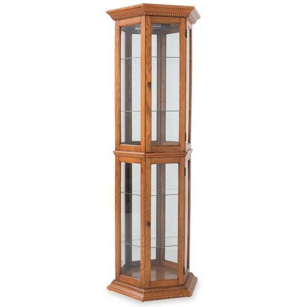 Hex Curio English Oak by Pulaski Furniture is now available at American Furniture Warehouse. Shop our great selection and save!