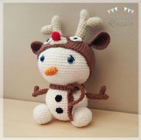 Los Productos de Ruca's: Reto Rucagurumis [II] - Diciembre: Muñeco de Nieve Rudolph