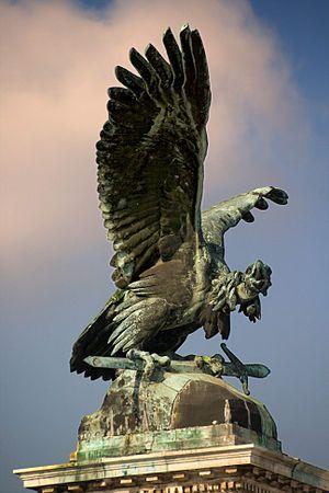 Turul - Wikipedia, the free encyclopedia. Mythical Bird of Hungary.