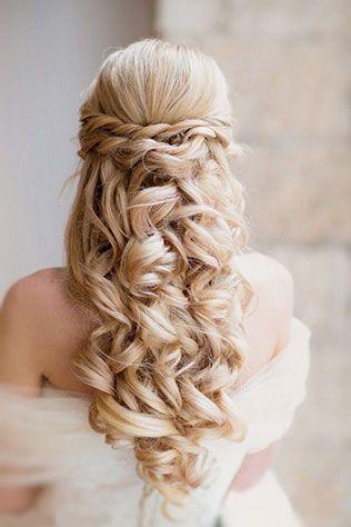 20 роскошных свадебных причёсок с плетением для длинных волос