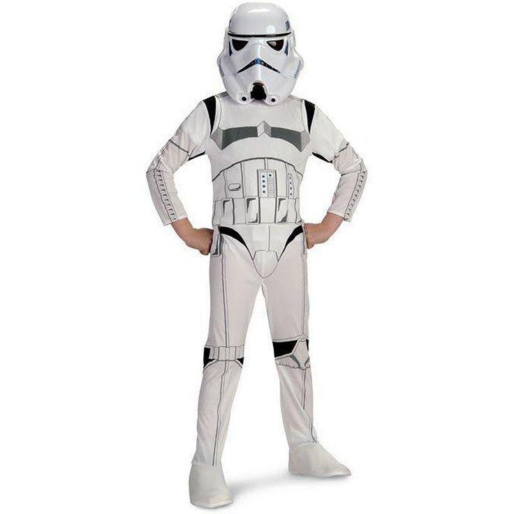 Star Wars Stormtrooper Costume - Kids, White