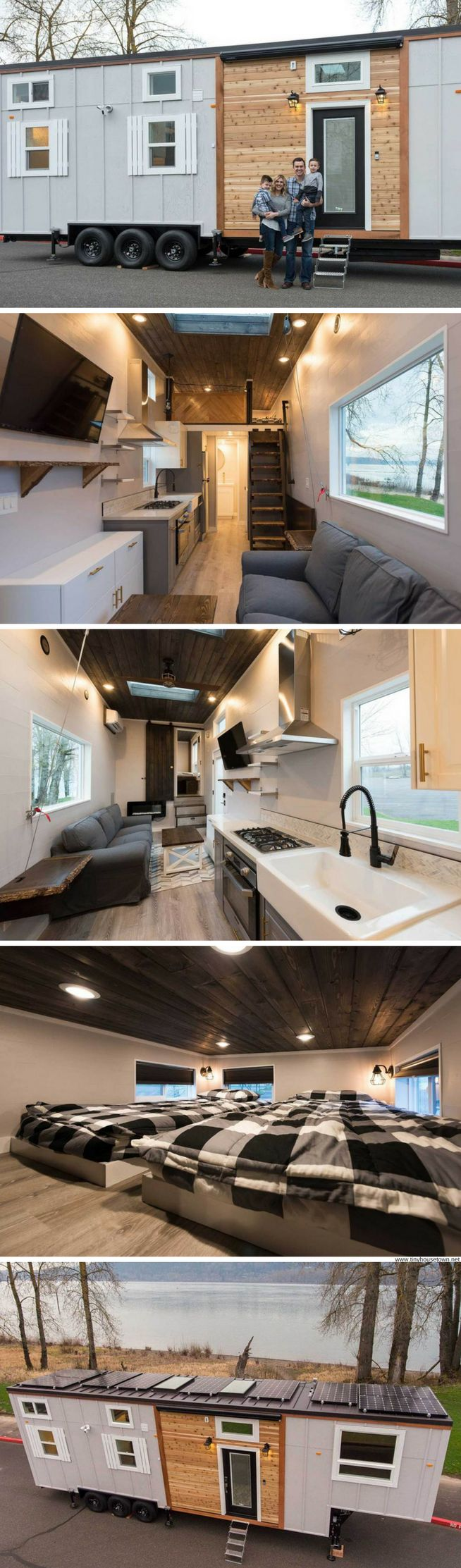 A 34' tiny home that's perfect for families!