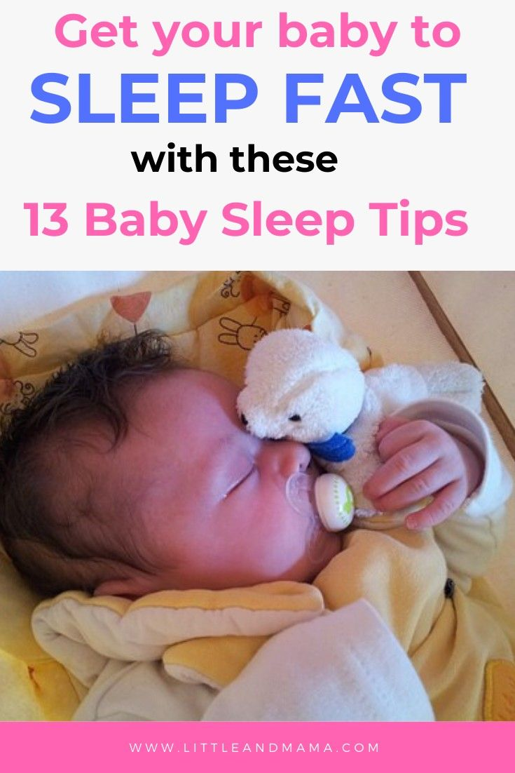 How to Get Your Baby to Sleep Fast in 2020   Baby sleep ...