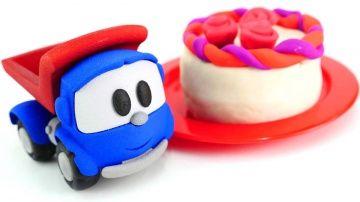 Готовим Вместе из Плей До. Видео для детей. Лепим торт из пластилина http://video-kid.com/10165-gotovim-vmeste-iz-plei-do-video-dlja-detei-lepim-tort-iz-plastilina.html  Куда подевался Грузовичок Лёва? Наверное он там, где стоят Машины самые любимые игрушки. Давай поищем его вместе, чтобы он съездил на почту и привез письмо от Миши. Грузовичок Лева играл в прятки с Бимо. Но Маша его нашла, и он, конечно, согласился съездить на игрушечную почту за письмом от Миши. А в письме НОВЫЙ РЕЦЕПТ…