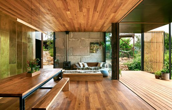 Home made from recycled concrete. Grand Designs Australia - Yackandandah