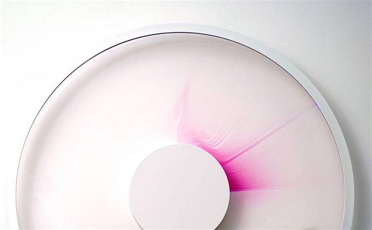 Der Zeit auf der Spur – Uhr nutzt Laser, um die verstrichene Zeit anzuzeigen - KlonBlog » KlonBlog