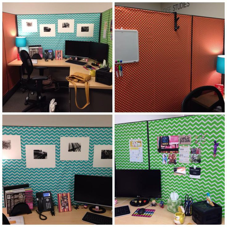 Cubicle Décor Ideas To Make Your Home Office Pop: Things I Like