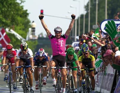 History - Tour de France 2001 Erik Zabel wins his 6th green jersey, the most ever