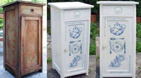 Несколько примеров того, как старая мебель может стать новой — БУДЬ В ТЕМЕ