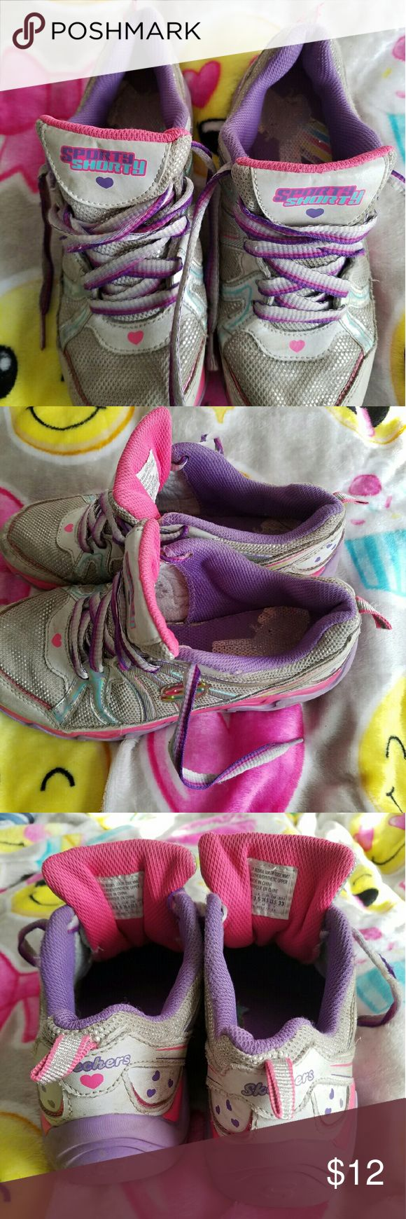 SKECHERS GIRL'S/WOMEN'S ATHLETIC SHOES SKECHERS GIRL'S/WOMEN'S ATHLETIC SHOES.  Non smoking home.  Multi-colored. Skechers Shoes Sneakers