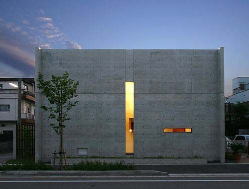 Modern house design by TSC Architects, Japan.