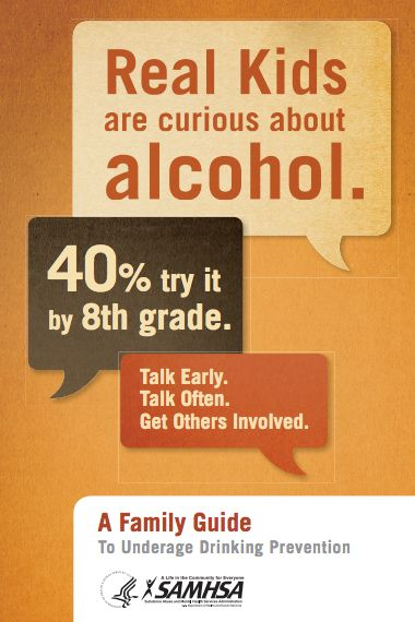 A Family Guide to Underage Drinking Prevention