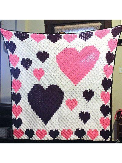 241 best C2C Graph images on Pinterest | Crochet blankets, Crochet ...