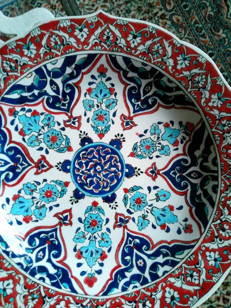 Beautiful Turkish İznik Tile