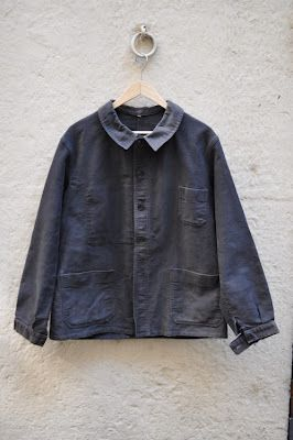 1950's French Work Jacket.  Thing of beauty!!