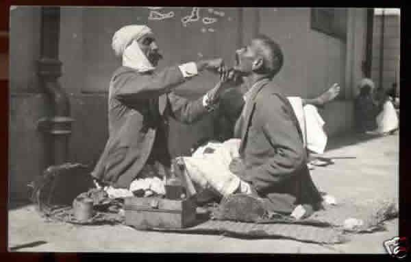 Street Barber - Old And Vintage Photographs Of Mumbai Bombay  Page 2 of 2  Best of Web Shrine