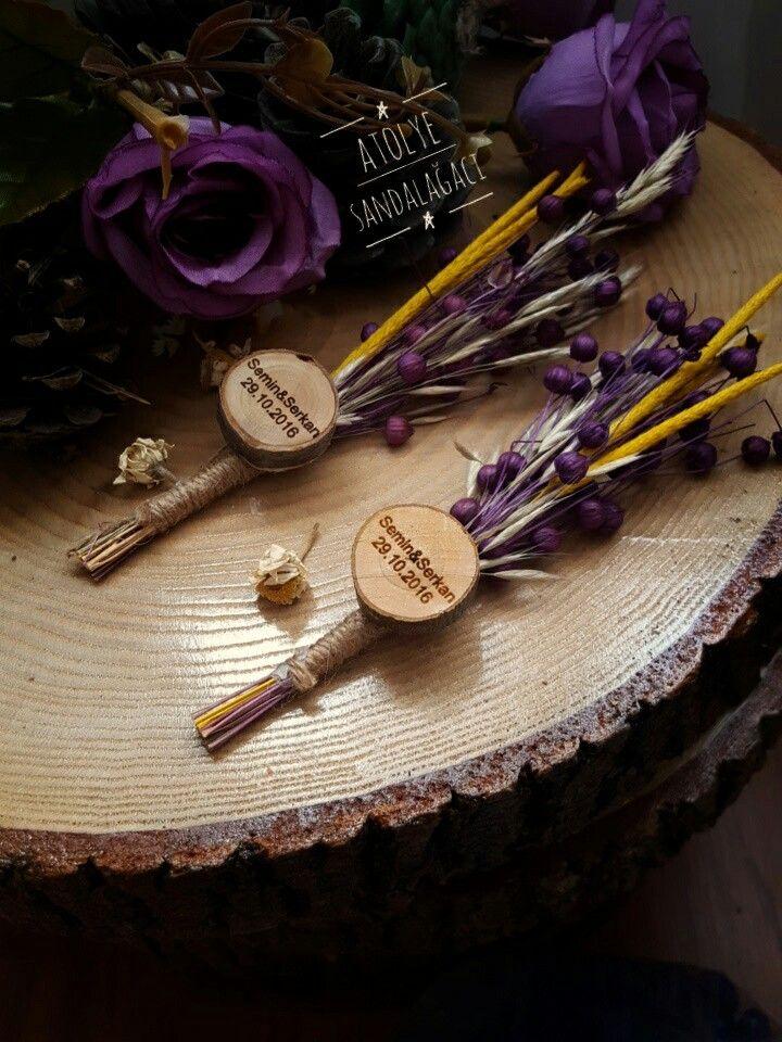 Kuru çiçek Nişan hediyelikleri Nişan tepsisi Rustic Konseptler Tasarım hediyeliklerimiz Burlap Kütük nişan tepsisi İletişim:info@atolyesandalagaci.com