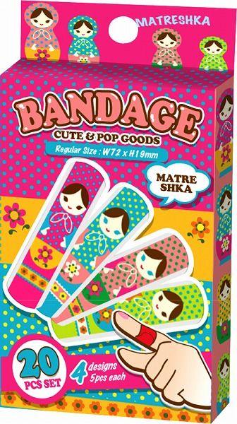 Matreshka bandages