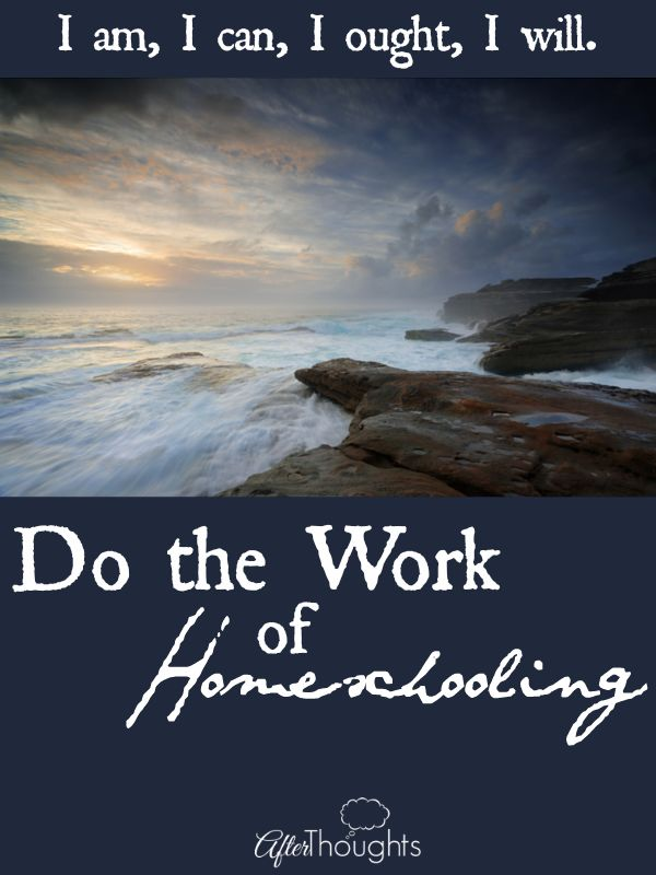 I should listen to this every month!   Charlotte Mason's motto for homeschool moms -- another pep talk written to myself.
