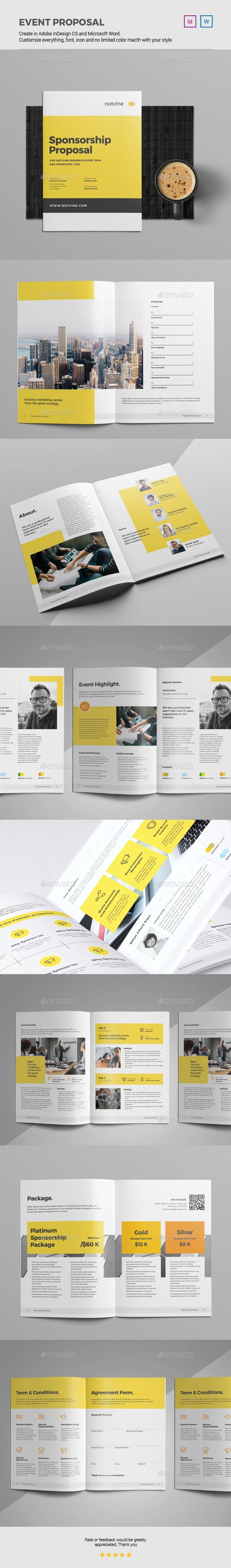 Event Proposal Template 49 best proposal templates