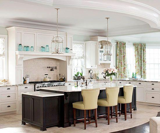 Open Kitchen Designs With Island best 25+ open kitchen layouts ideas on pinterest | kitchen layouts