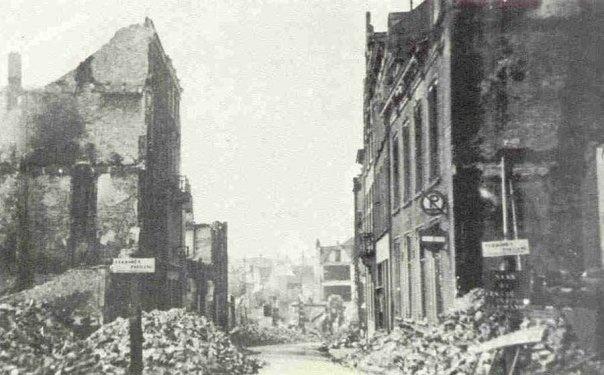 After the bombing in Nijmegen, February 22, 1944