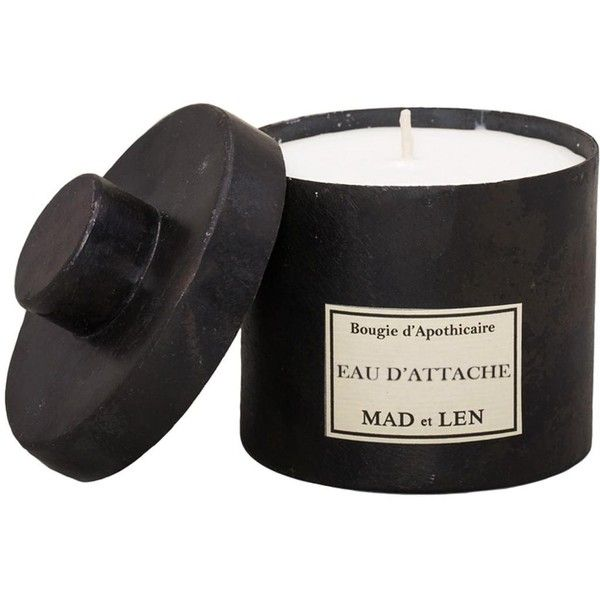 Mad Et Len Bougie-Candle - Eau De Attache found on Polyvore featuring home, home decor, candles & candleholders, fragrance candles and scented candles