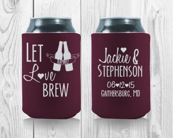 17 best images about wedding koozies on pinterest personalized wedding romantic and something new. Black Bedroom Furniture Sets. Home Design Ideas