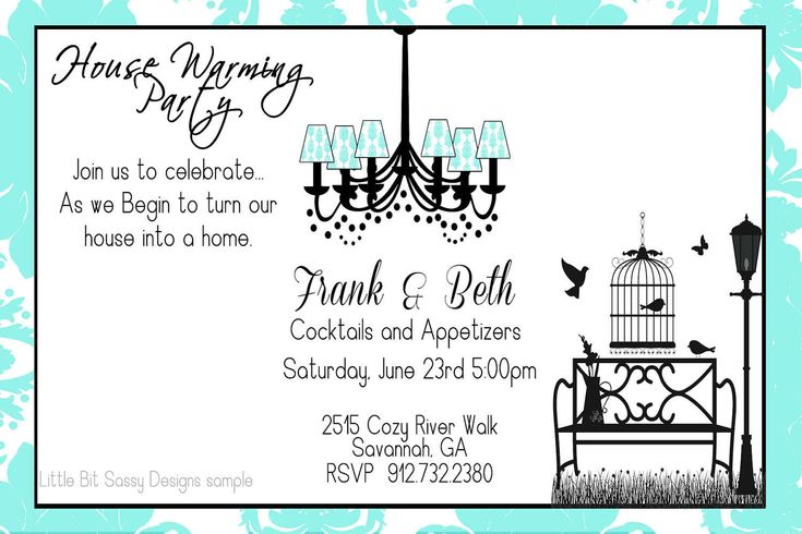 Housewarming party invitation wording house warming for Things to do at a housewarming party
