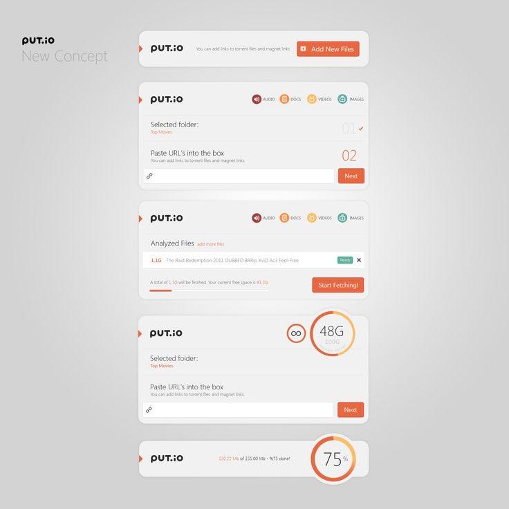 User interface inspiration | #963
